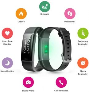 lintelek fitness tracker features