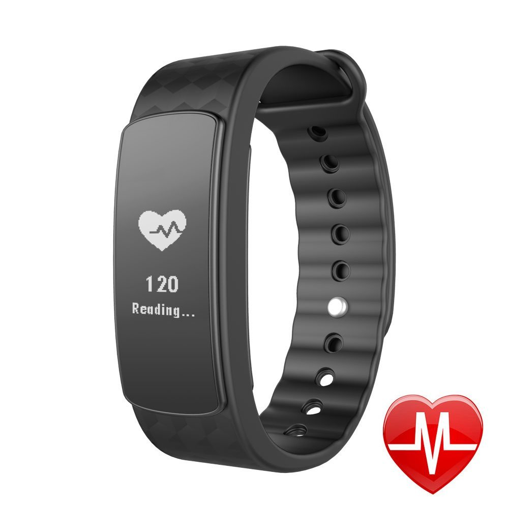 heart rate tracking buy activity atongm wearable waterproof grey fitness bluetooth smart rt gray black and monitor watches tracker