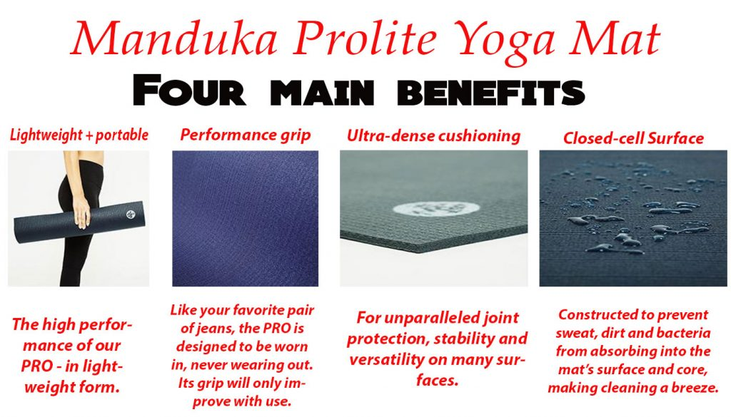four main benefits to buy Manduka Mat