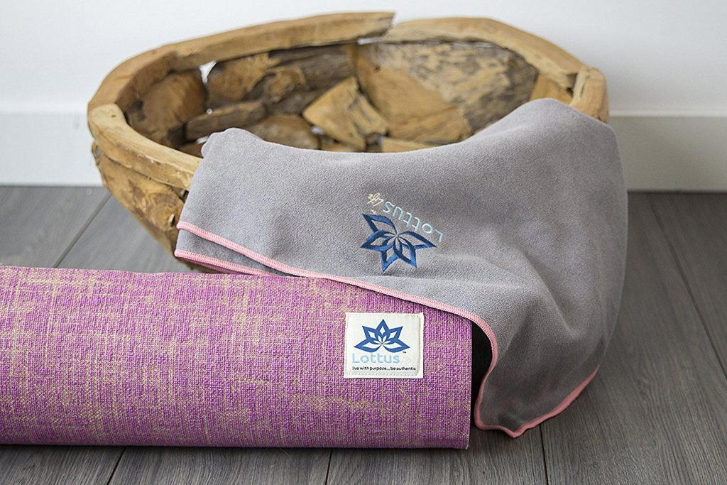 lotus life yoga towel