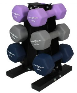 3 tier dumbbell stand