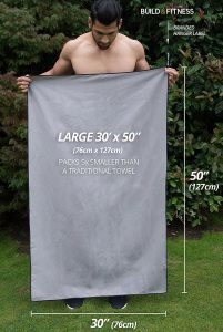 Large gym towel