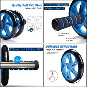 AB Roller Wheel durable structure