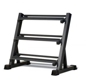 3 tier dumbbell rack features