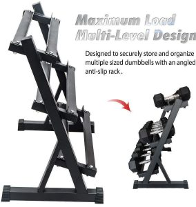 multi level 3 tier rack