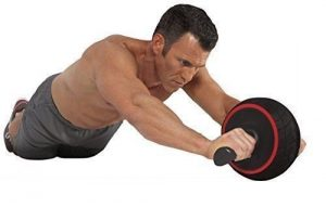 Iron gym exercise roller wheel features