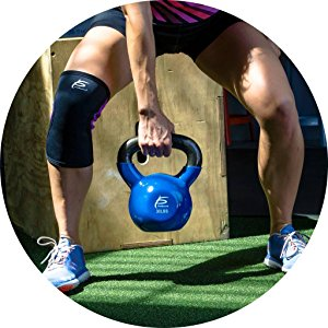 durable cast iron kettlebell