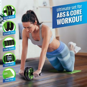 home exercise equipment abs & core workout