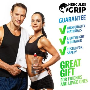 HerculesGrip 4 in 1 gym equipment gift set