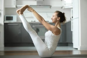 Boat Pose Yoga for Flexibility and Strength