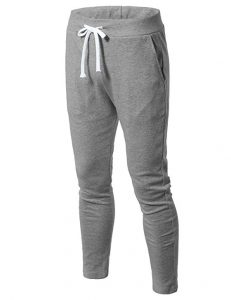 H2H Men cheap jogger sweatpants