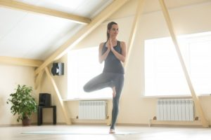 tree pose yoga for flexibility and strength