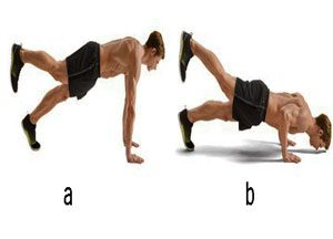 single leg pushups