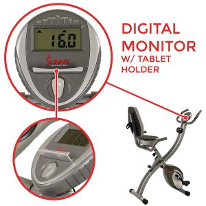 exercise bike with digital monitor