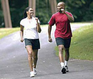 brisk walking to reduce belly fat