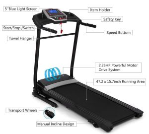 treadmill for home features