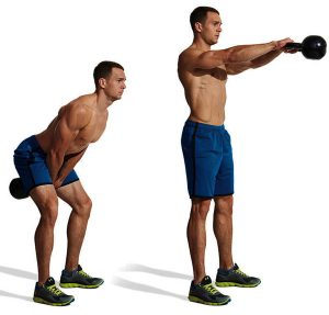 kettlebell swing properly