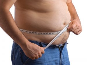 measuring belly fat male