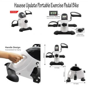 hausse portable peddle exerciser