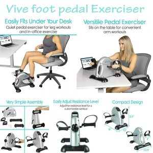 vive foot pedal exerciser