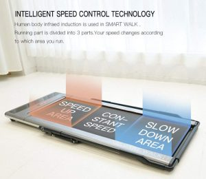 under desk speed control treadmill