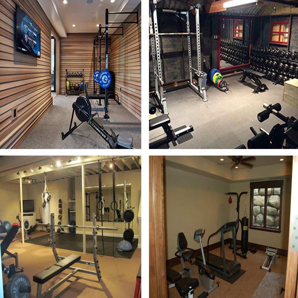 All essentials requirements you must know to build a home gym my