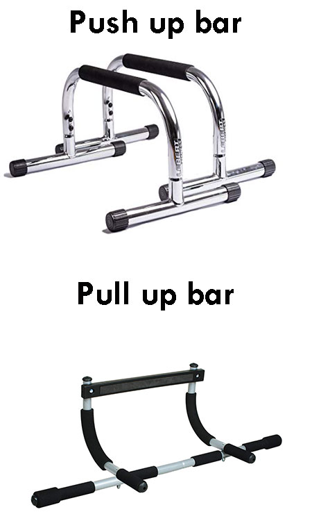 push up and pull up bar