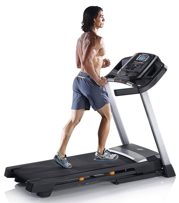 compact folding treadmill for small apartment