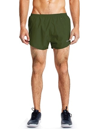 3 inch gym shorts for men