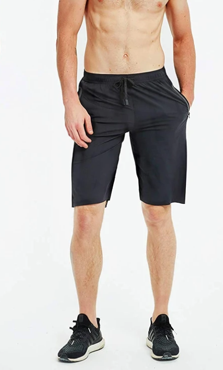 "best 12"" gym shorts for men"