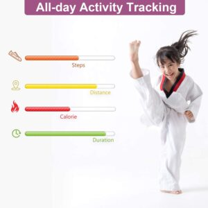 all day activity tracker for tweens