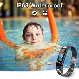 waterproof fitness tracker for kids