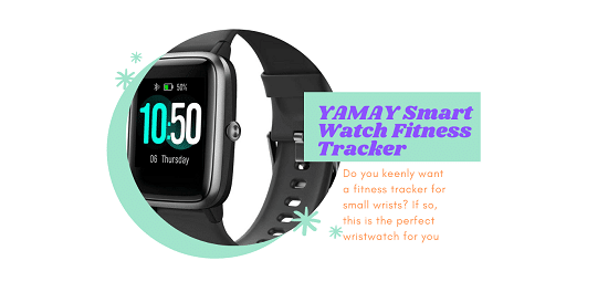 YAMAY Smart Watch Fitness Tracker Watches for both adults and kids and tinny wrists